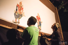 Shadow Puppet Theater, Champasak, Southern Laos