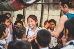 School, Champasak, Southern Laos