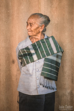 Old woman in Laos