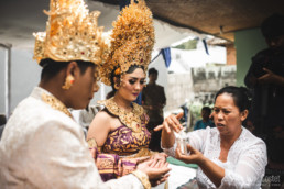 Ritual during a Wedding in Bali