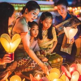 Boun Ok Phansa, Laos