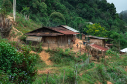 Hmong village, Northern Laos