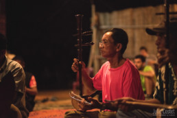 Shadow Puppet Theater in Champasak, Laos